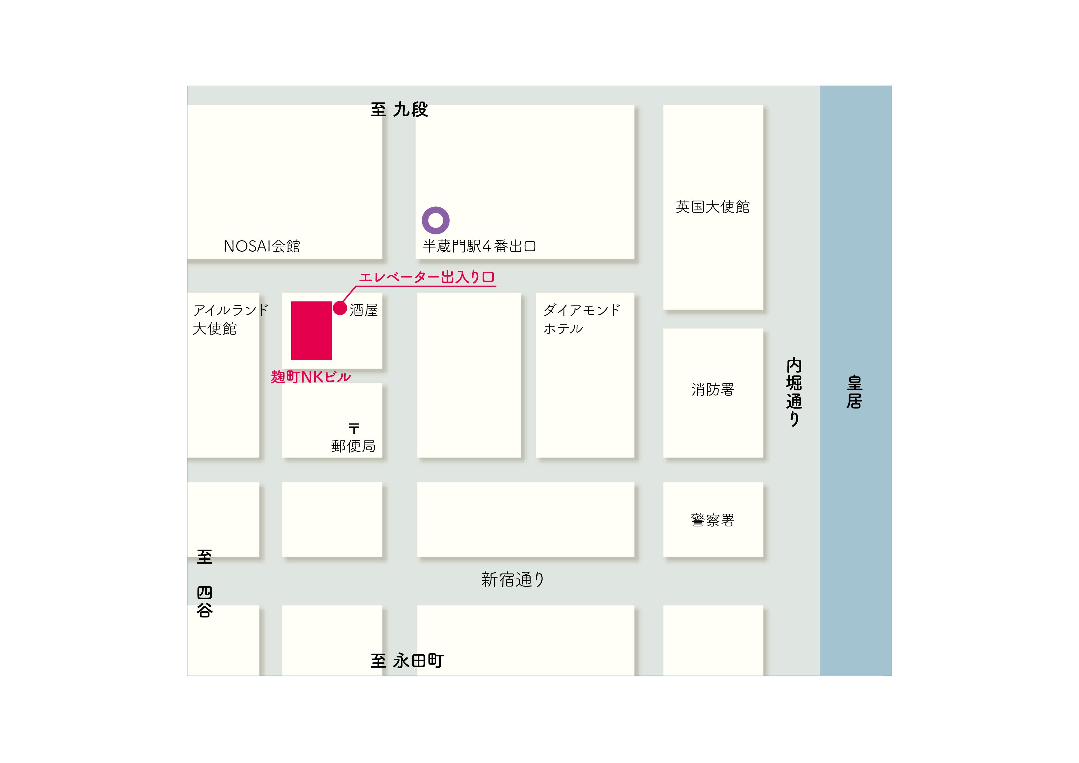 早崎税理士事務所案内地図